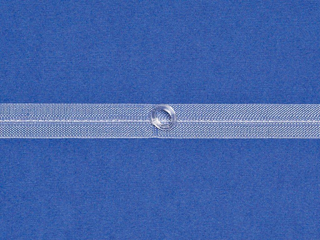 Falt- und Raffrolloband Ringe 8//13 mm Unbekannt rewagi 5 Meter mit