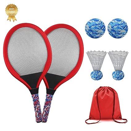 KiraKira Raquetas para niños, Raquetas de Tenis niño,Raqueta ...