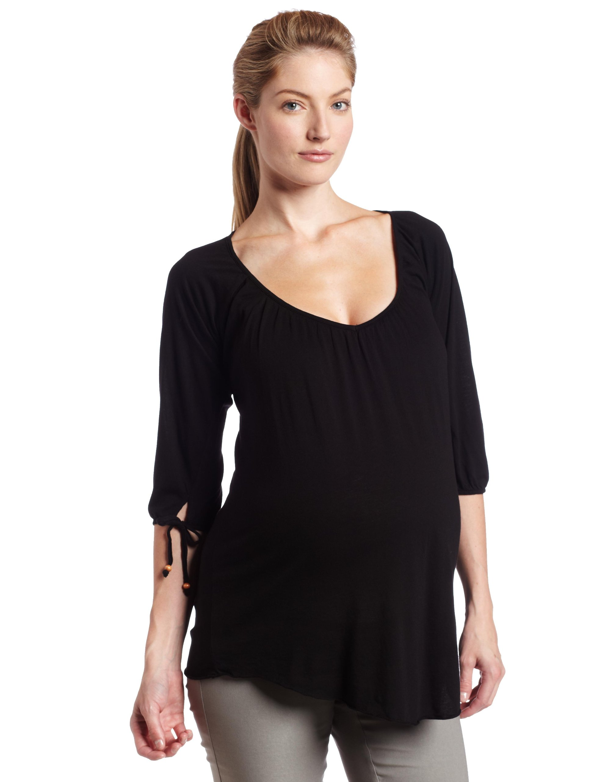 9seed  Women's Maternity Star Top,Night,p/s