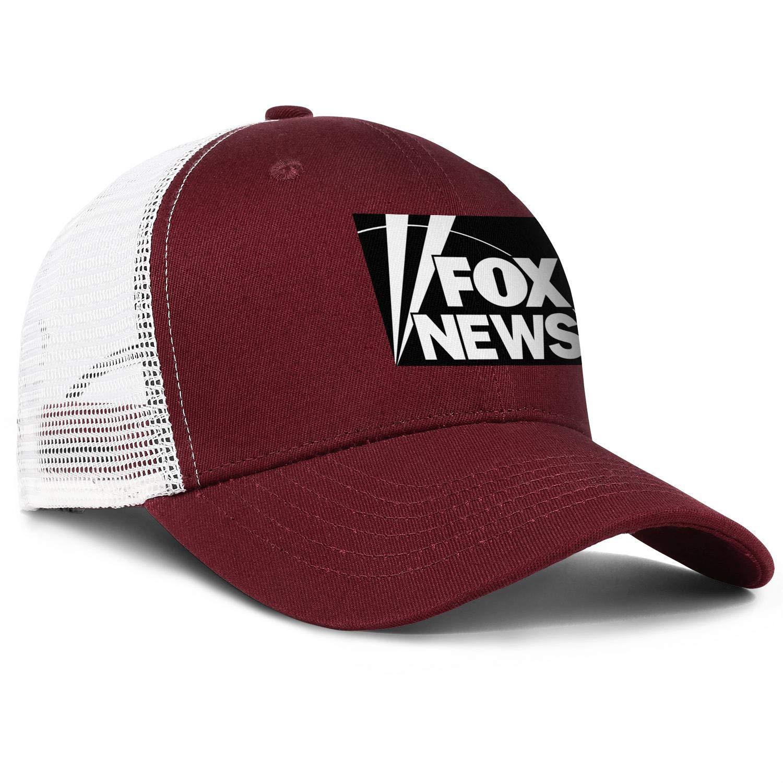 Durable Trucker Hat for Men Fox-New-Logo Mesh Baseball Caps Womens Snapbacks