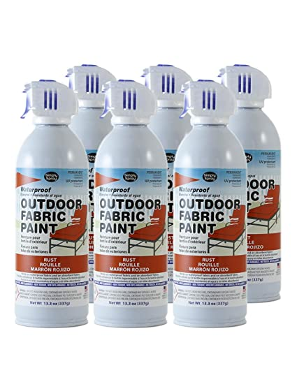 Amazon.com: Simply Spray Pintura en spray para tela ...