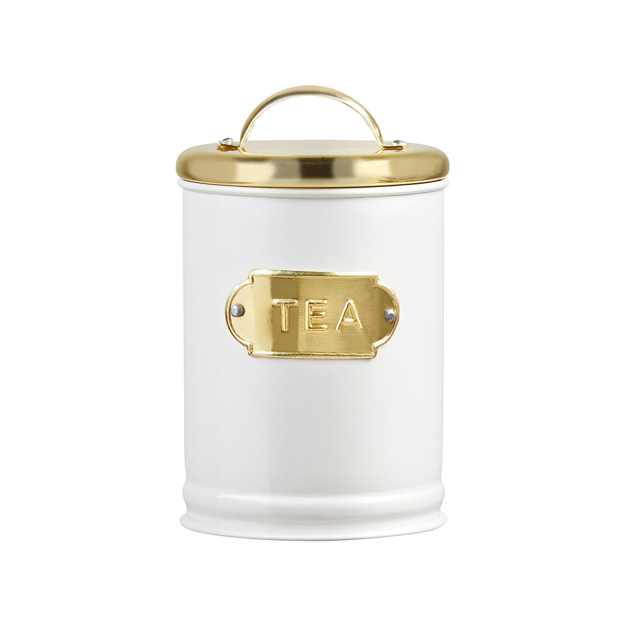 Amici A5IP003AS3R Home Madison Metal Canisters (Set of 3), Assorted/32 oz, Gold by Amici (Image #3)