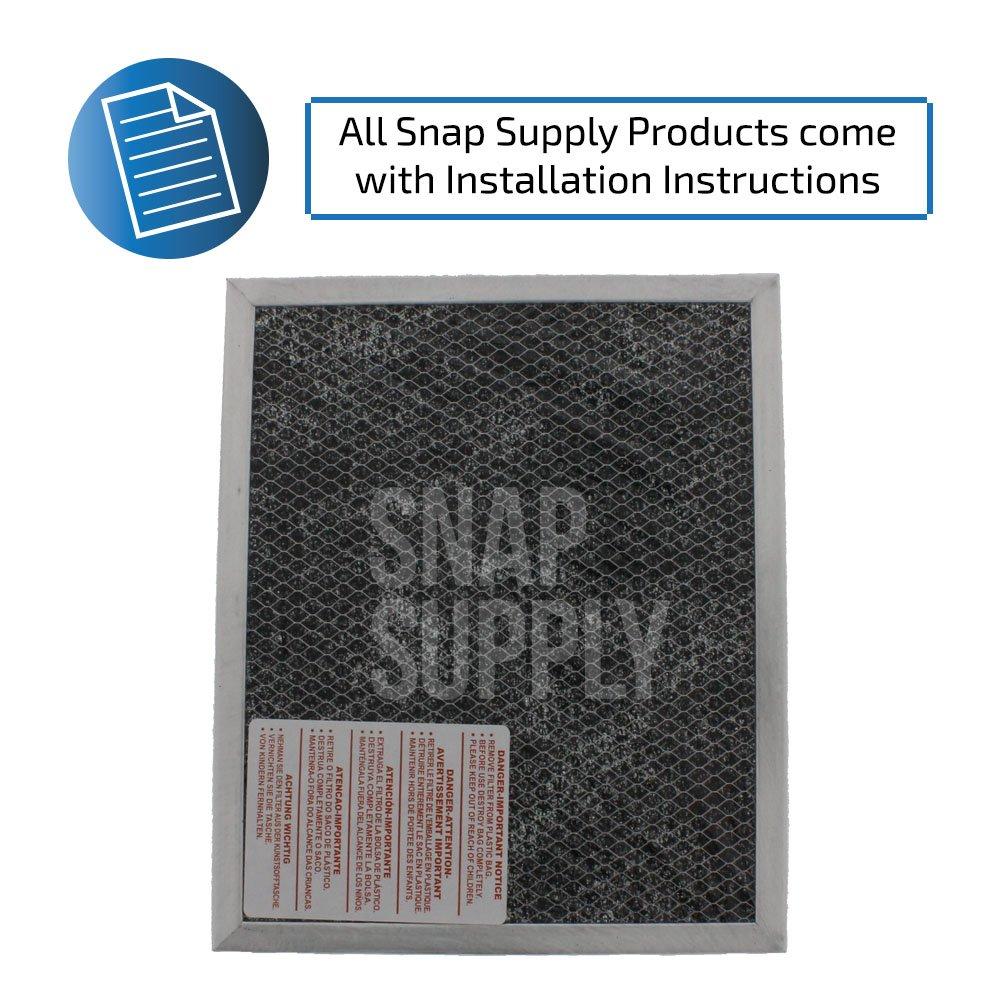 Amazon.com: Filtro de carbón para Broan de Snap Supply ...