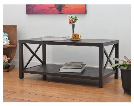 Owings Square Coffee Table Espresso - Threshold™ : Target
