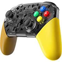 Replacement Shell for Nintendo Switch Pro Controller, Pokemon Lets Go Pikachu, Eevee Edition Replacement shell for for Switch Pro Controller