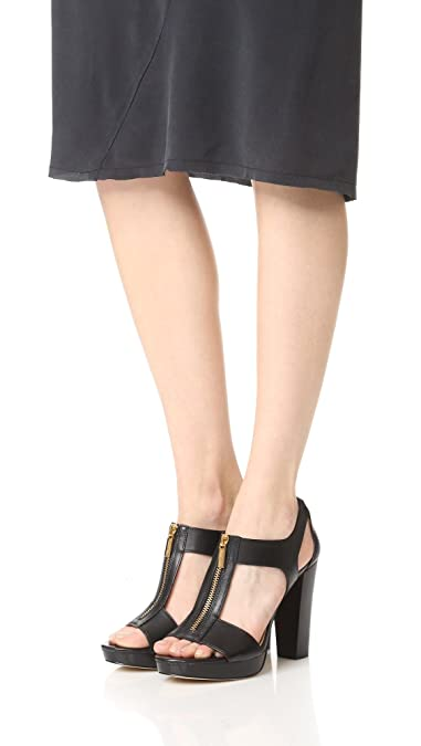1dd0cc4590bb Amazon.com | MICHAEL Michael Kors Women's Berkley Sandals | Heeled ...