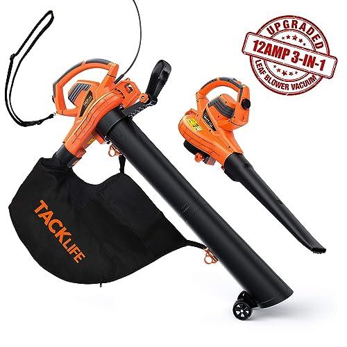 TACKLIFE Leaf Blower Vacuum Mulcher