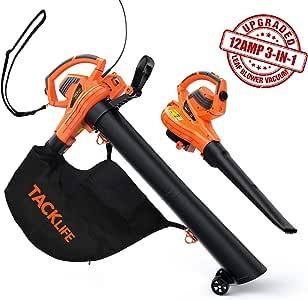 TACKLIFE Leaf Blower/Vacuum/Mulcher KABV35A
