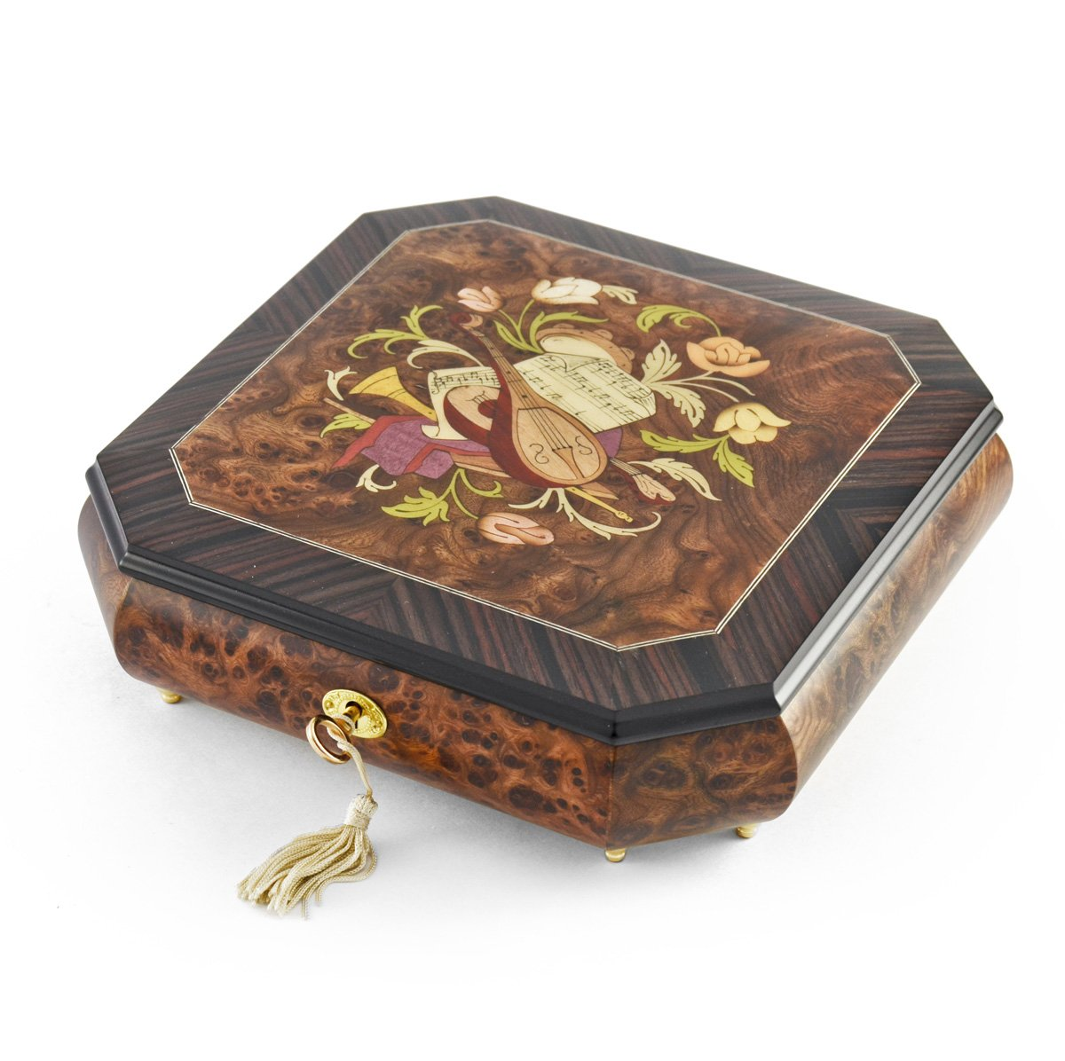Perfectly Hand Crafted Floral Music Jewelry Box HUGE SALE - Love Story (Love Story the Movie)