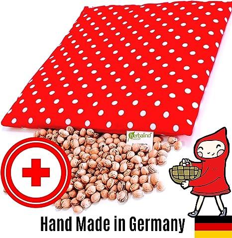 Herbalind Kirschkernkissen 24 x 25 cm medizinisch zugelassen Kirschkern-Wärmekissen 550g