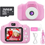 Hachi's Choice Gift Kids Camera Toys for 3-9 Year Old Girls, Compact Cameras for Children,Best Birthday Festival Gift…