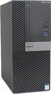 Dell Optiplex 7040 Mini Tower Desktop, Intel Quad Core i5 6500 3.2Ghz, 8GB DDR4, 512GB SSD Hard Drive, HDMI, Windows 10 Pro (Renewed)
