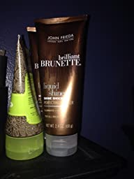 Give both brilliant brunette shine shock leave on perfecting glosser She took