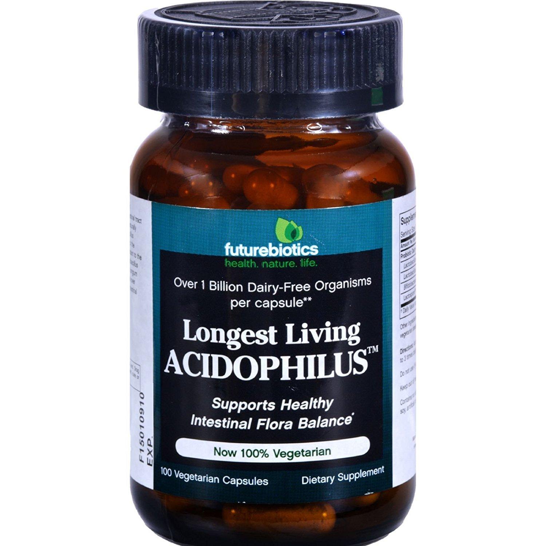 Futurebiotics Longest Living Acidophils 100 Cap