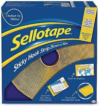 Sellotape Sticky Hook 25mmx12m 1445179