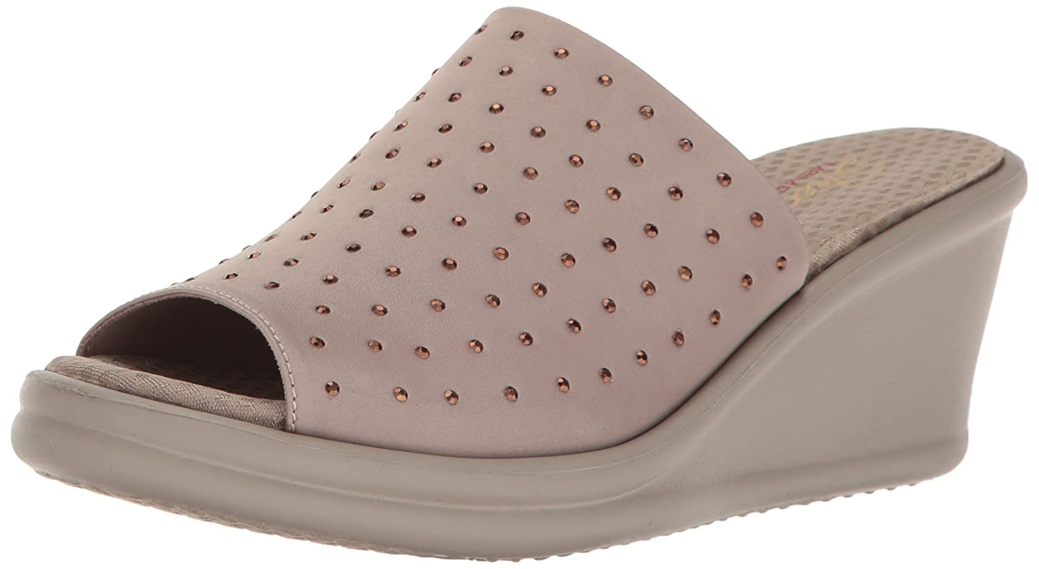 Skechers Cali Women's Rumblers Silky Smooth Wedge Sandal -
