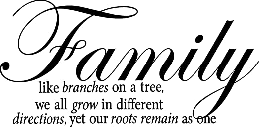 com quote it family like branches on a tree we all grow