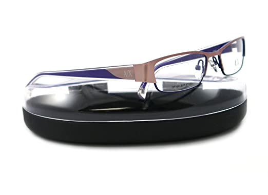 895e210bba1a Image Unavailable. Image not available for. Color  Armani Exchange AX227  Eyeglasses - 0Y86 Matte Rose ...