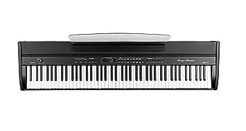Orla - Teclado 438PIA0703 para escenario y estudio, color negro