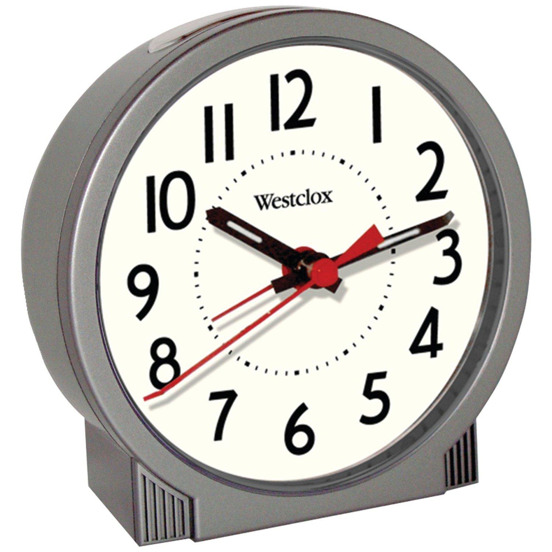 WESTCLOX 47590 Quartz Analog Ascending Alarm Clock