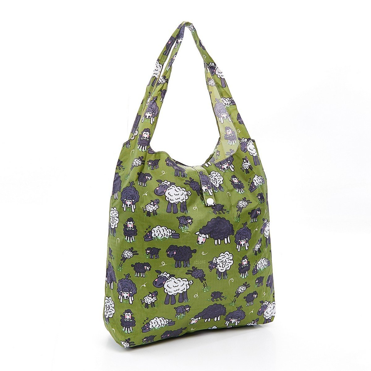 / Mouton Vert Eco Chic Pliable Sac /à provisions//Sac de Shopping//Sac de Courses r/éutilisables/