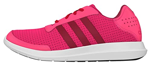 ADIDAS ELEMENT REFRESH SCARPE RUNNING DONNA ROSA SHOCK PINK/UNITY PINK/FTWR
