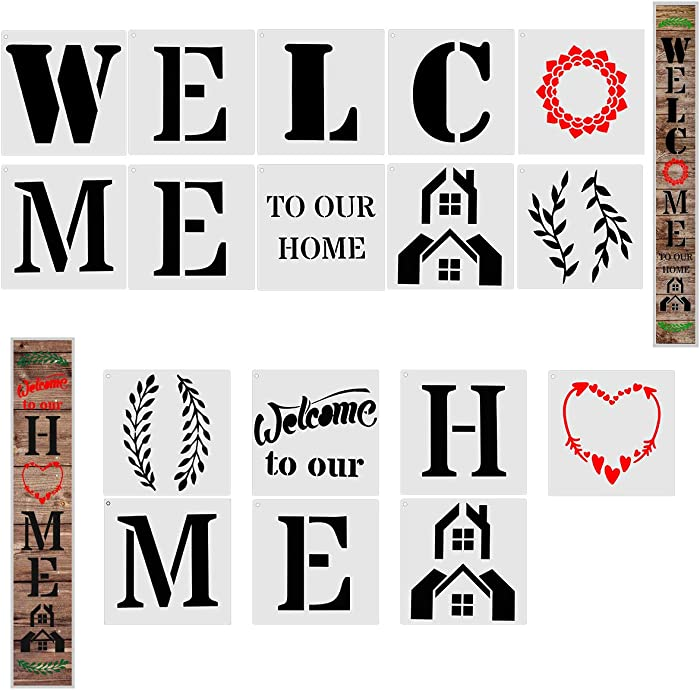 Top 9 6 Inch Letter Stencils Welcome Home