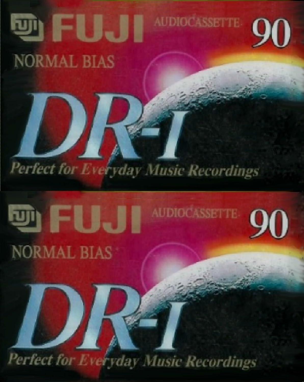 Lot of 3 FUJI DR-I 90 Min Normal Bias Recording Blank Audiocassette Tapes
