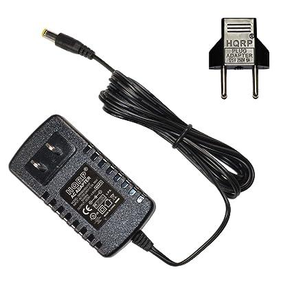 HQRP Adaptador de CA para Casio CT450, CT460, CT470, CT510, CT605,