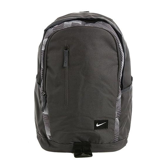 Nike All Access Soleday-Sol - Mochila para hombre, color gris/negro/blanco (anthracite/black/white), talla única: Amazon.es: Zapatos y complementos