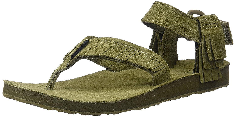Teva W Flatform Universal Mirrored Metallic femmes, cuir lisse, sandales, 38 EU