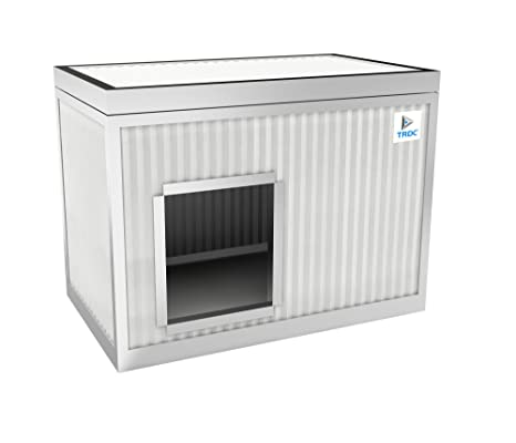 TRDC Caseta Aislante para Perro Standard para el Exterior (Artic 25 mm)