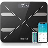Body Weight Scale, Digital Body Fat Scale Bathroom Scales with Smart BMI Scale,Body Fat, Muscle, Bone Mass, Body Composition Analyzer with Smart Phone App