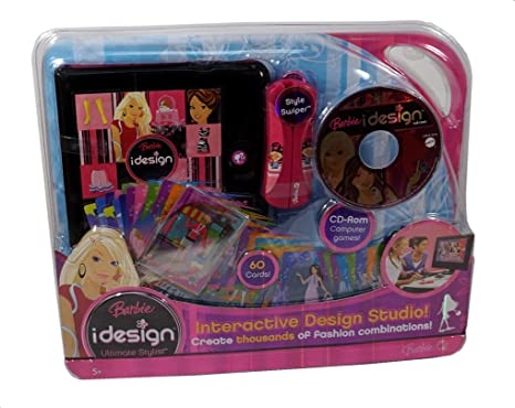 Barbie iDesign Ultimate Stylist Cards and CD-ROM Puppen & Zubehör