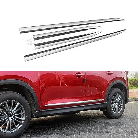 4pcs Fit para todos los nuevos Mazda CX-5 cx5 2017 2018 umbral de la