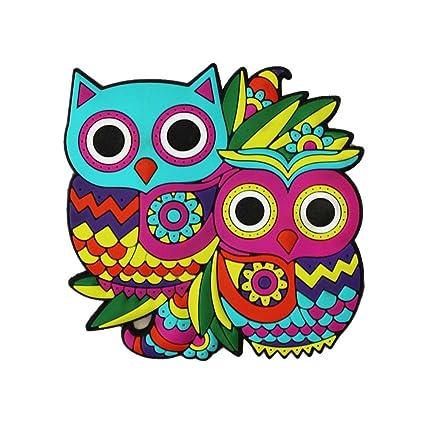 Chumbak PVC Owl Magnet