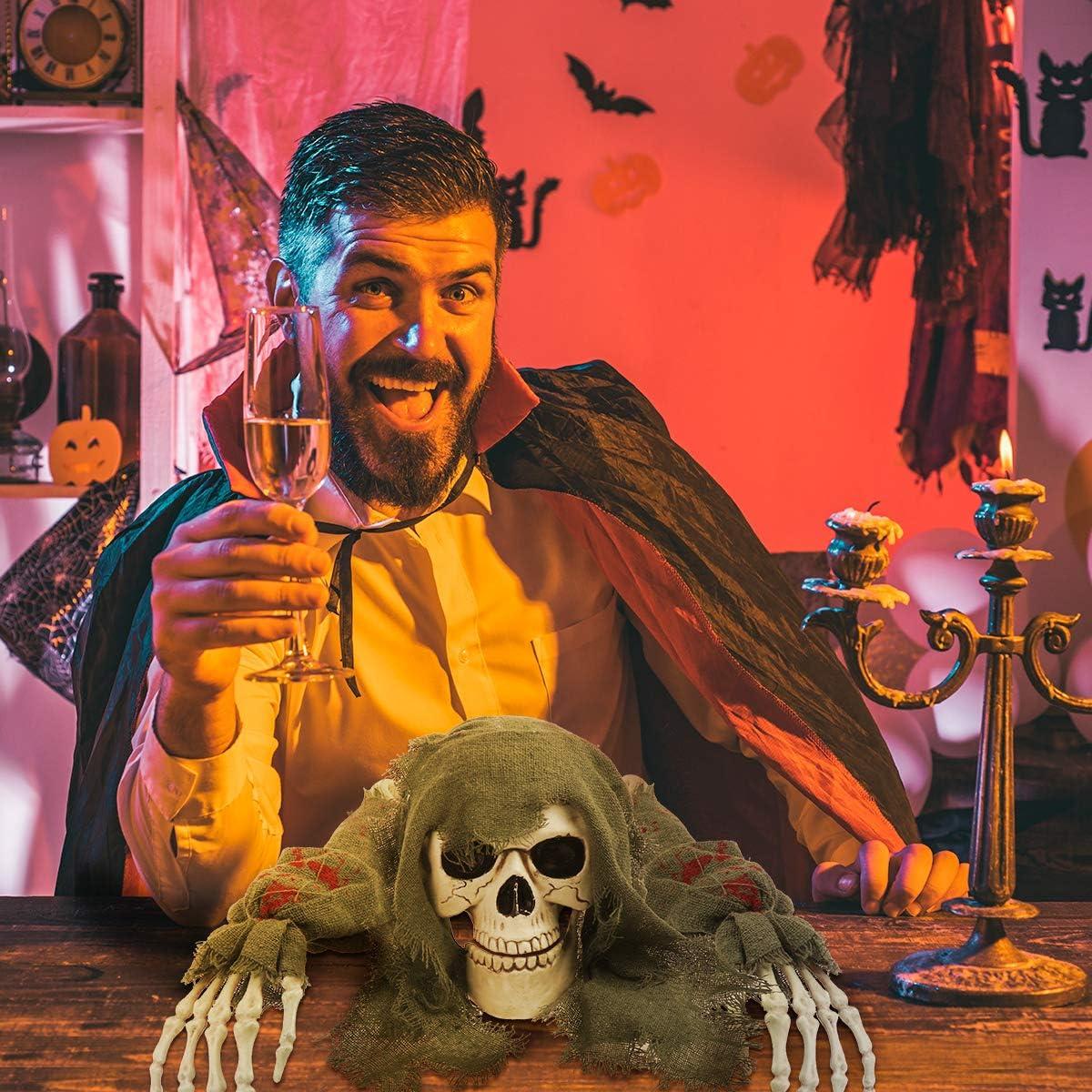 Halloween Decorations Outdoor Skeleton Skull Stakes Decorations Ground Breaker Skeleton Best Halloween Decorations