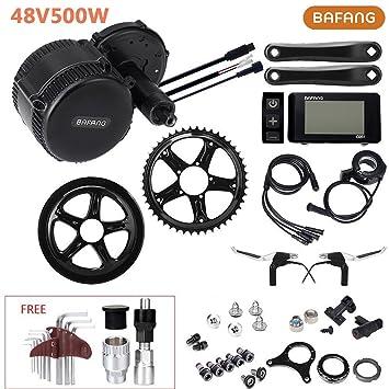 Bafang Motor Central 48V 500W 8fun BB:68mm para Bicicleta Eléctrica Kit de Conversión con