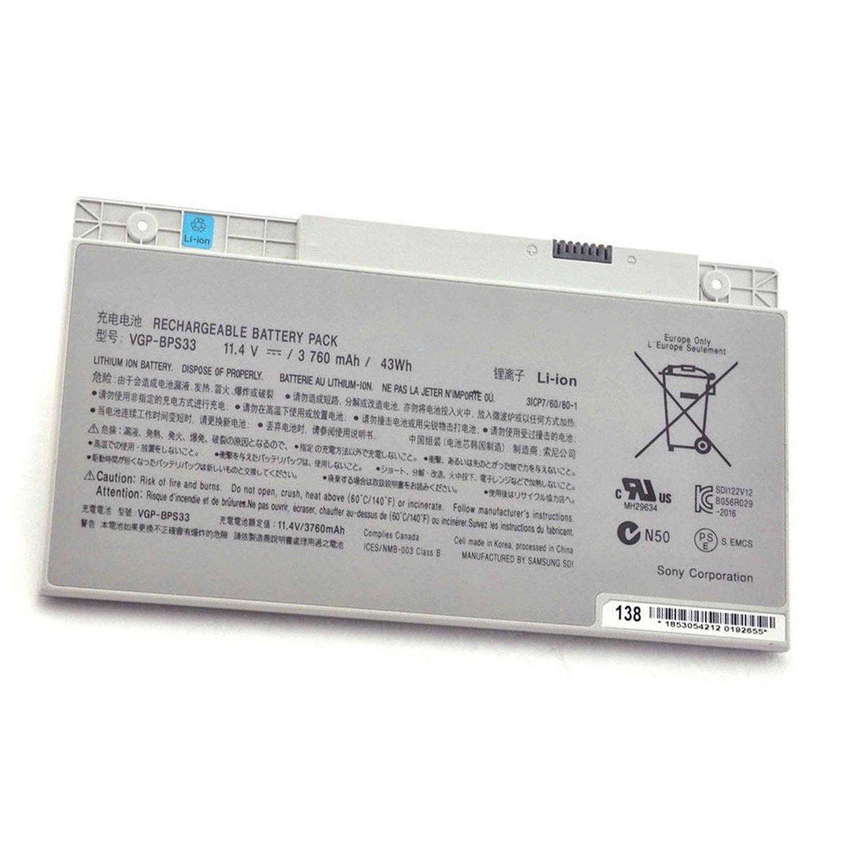 Bateria VGP-BPS33 para Sony VAIO SVT-14 SVT-15 T14 T15 T14118CC Vaio SVT14126CXS Vaio SVT14127CH Vaio SVT141290X Vaio SV