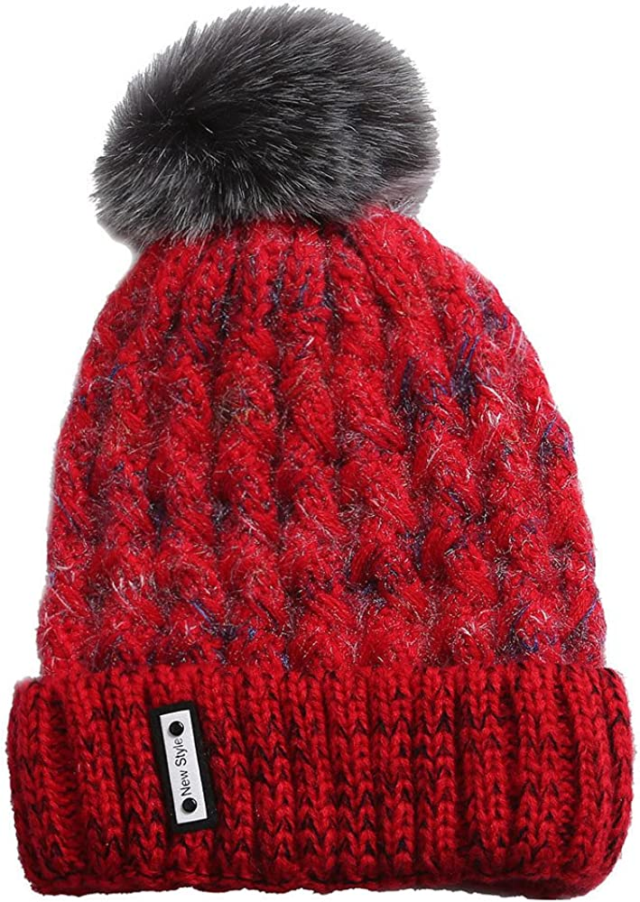 TWGONE Knit Caps Wool Cosy...