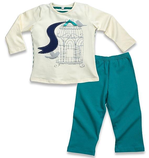 Amazon.com: Candyland Boy de manga larga pijamas, 2 piezas ...