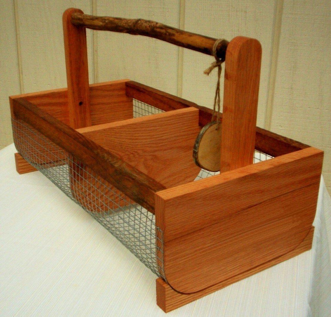 Food Storage,Harvest Basket,Garden Basket,Storage Bin,Farmhouse Decor,Picnic Basket, Large