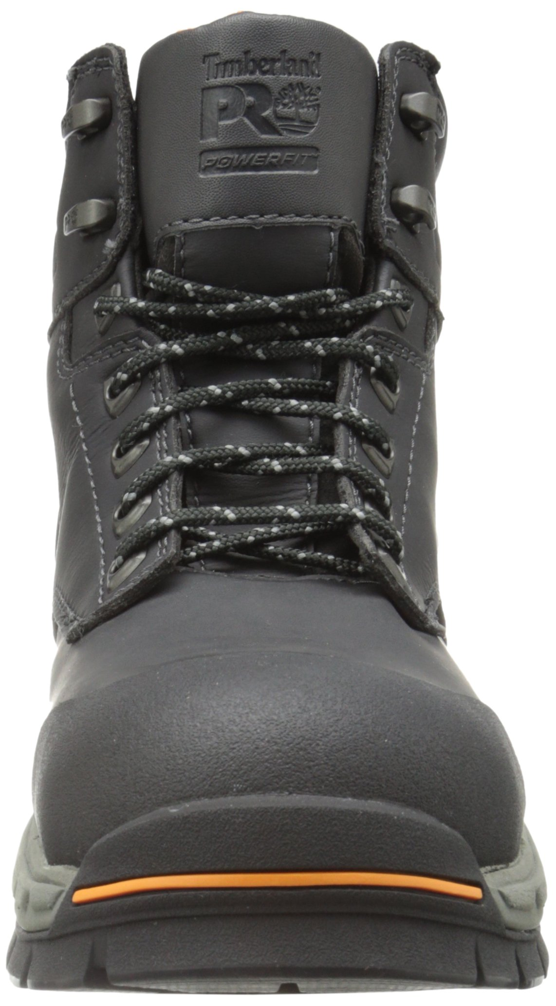 Timberland PRO Men's 6 Inch Stockdale Grip Max Alloy Toe Work and Hunt Boot, Black Microfiber, 5.5 M US by Timberland PRO (Image #4)