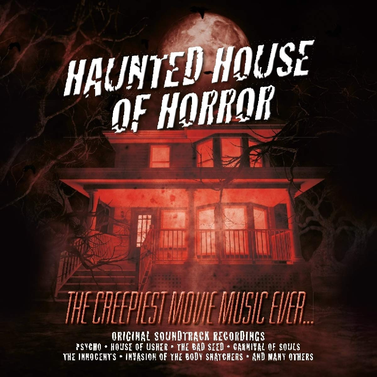 Various Artists Haunted House Of Horror Creepiest Movie Music Ever Various Amazon Com Music