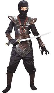 Amazon.com: piel Ninja Fighter Costume – Large: Toys & Games