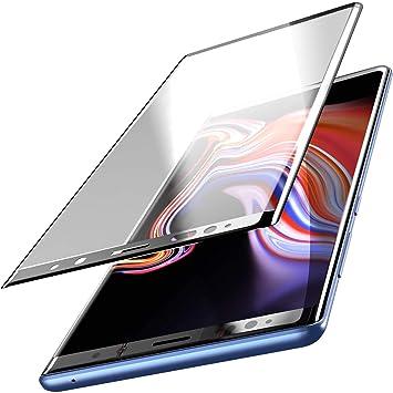 ea7ec21c824 TOZO Protector de Pantalla para Samsung Galaxy Note 9, [Marco Completo 3D]  Dureza Vidrio Templado Tempered 9H Protector Pantalla para Samsung Galaxy  Note 9, ...