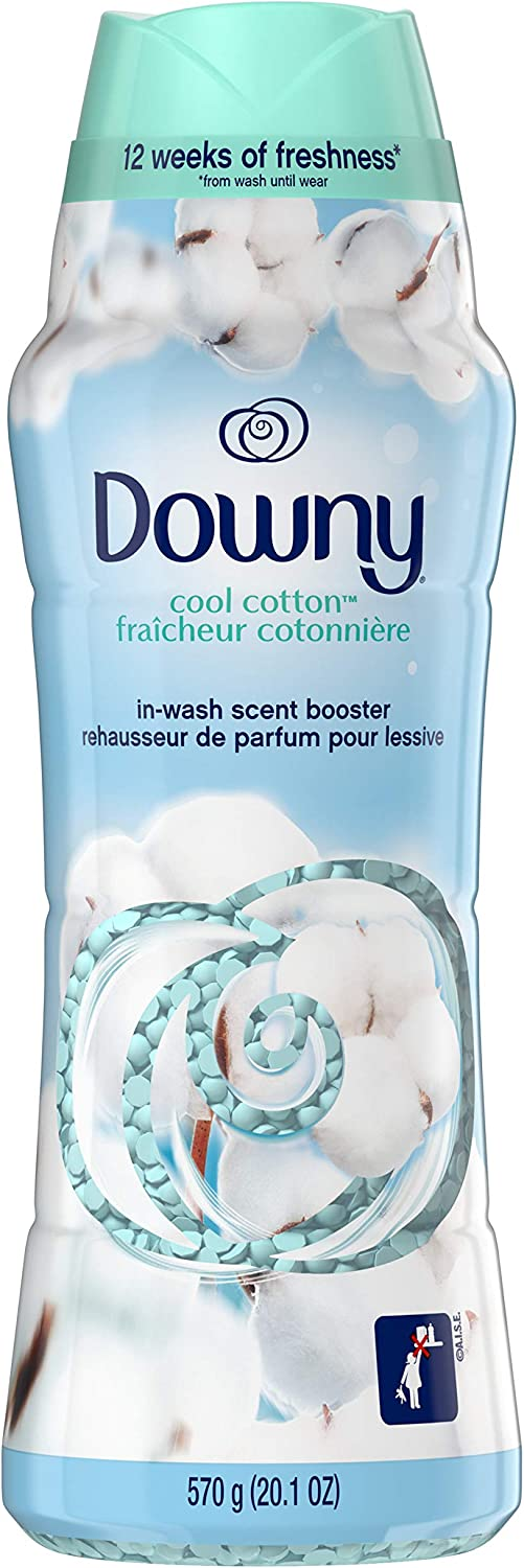 Downy in-Wash Scent Booster Beads, Cool Cotton, 20.1 oz