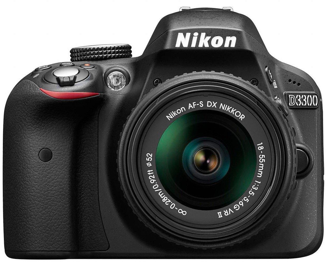 Nikon D3300 - Cámara réflex de 24,2 Mp (pantalla LCD de 3