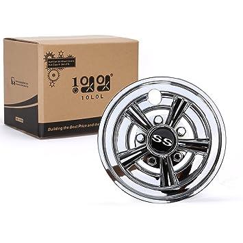 10l0l fundas para ruedas de carrito de Golf SS Hub Caps para Yamaha/Club coche