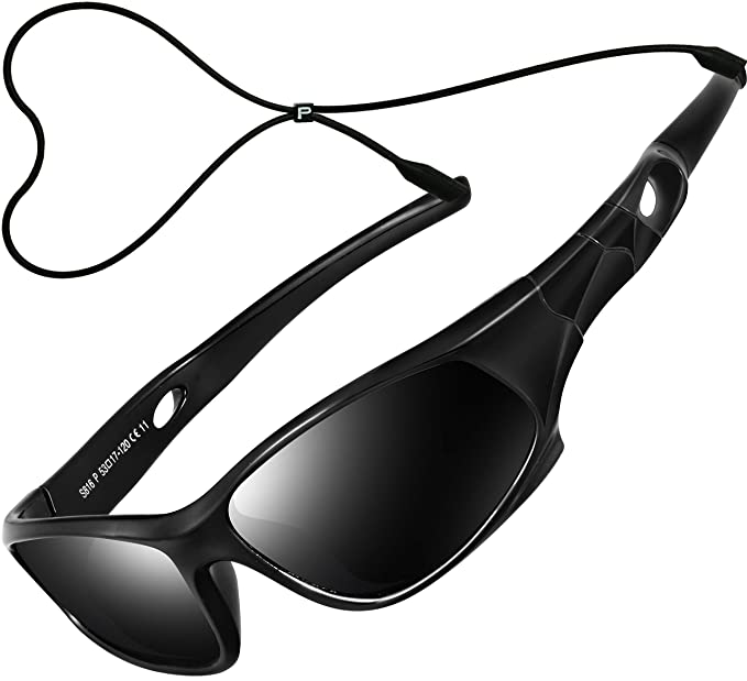 ATTCL Unisex-niños Deportes Gafas De Sol Polarizado Uv400 Protección Súper Ligero años 3-